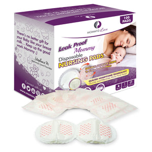 'Leak Proof Mommy' Disposable Nursing Pads | 100 Count