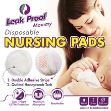 Nursing Mom Basic Kit - Gel Nursing Pads For Hot And Cold Breast Therapy + Disposable Ultra Thin Extra Absorbent Nursing Pads