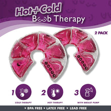 Breast Therapy Gel Pads for Breastfeeding Relief + Kids Ice Pack