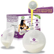 Breast Shell & Milk Catcher for Breastfeeding Relief - With PLUG