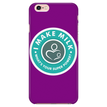 I MAKE MILK -1 / PURPLE iPhone 7/7s Phone Case