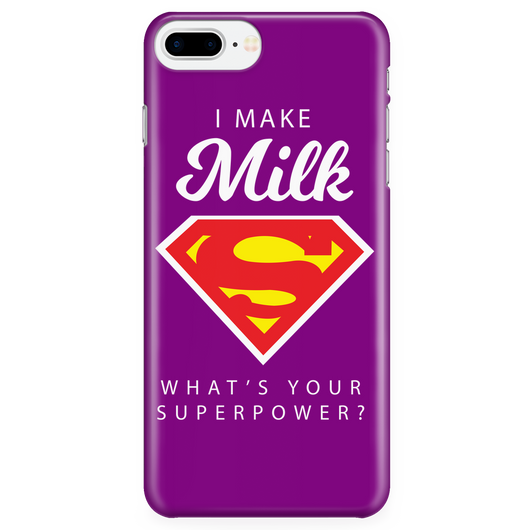 I MAKE MILK -2 / PURPLE iPhone 7 Plus/7s Plus Phone Case