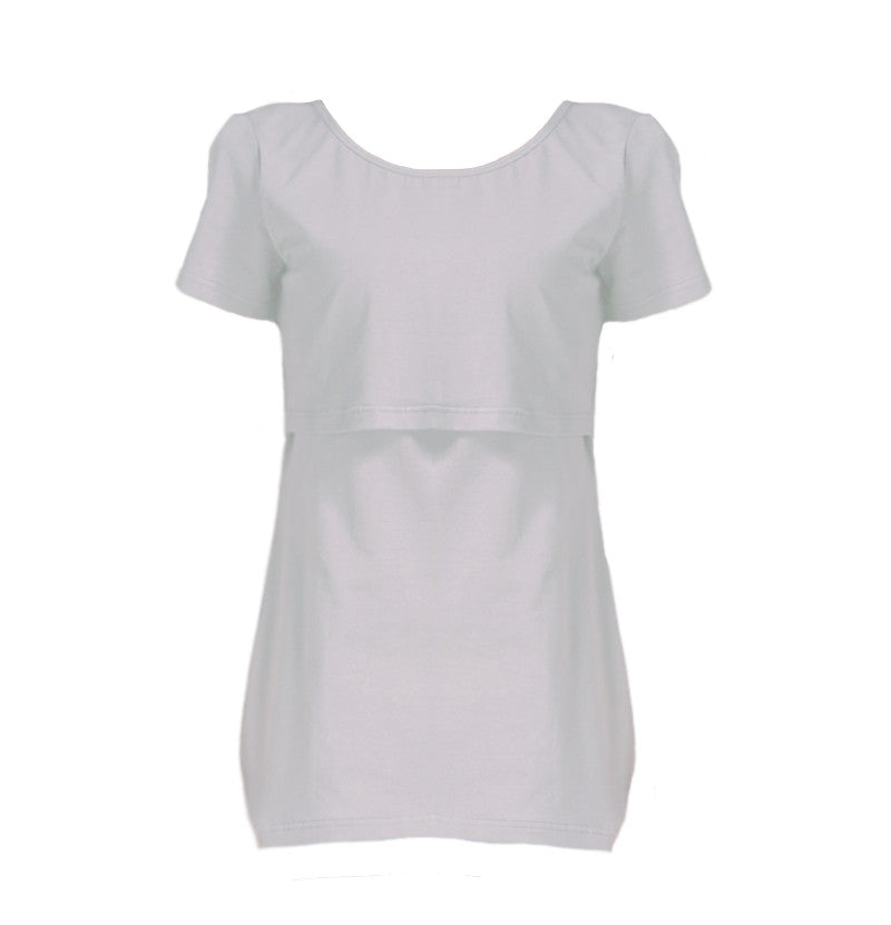 Short Sleeve Breastfeeding T-Shirt