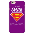 I MAKE MILK -2 / PURPLE iPhone 7/7s Phone Case
