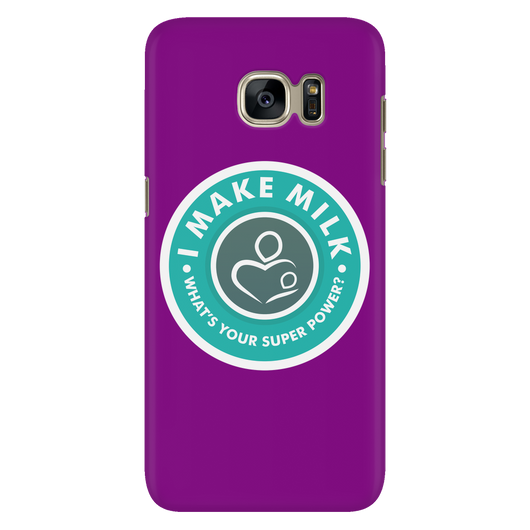 I MAKE MILK -1 / PURPLE Galaxy S7 Phone Case