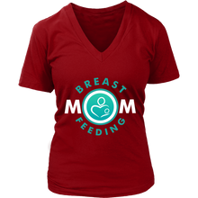 Breast Feeding MOM / V-Neck T-Shirt