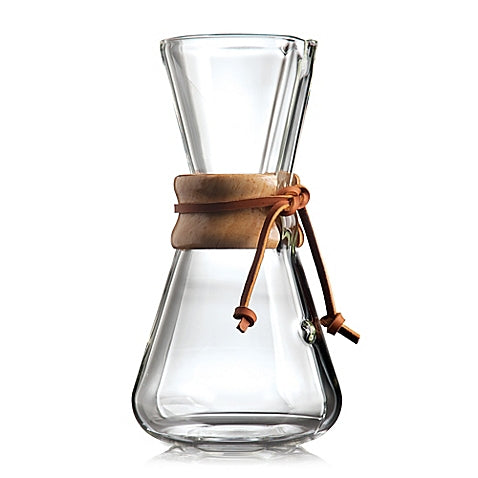 Chemex 3 Cup Classic Series Coffeemaker