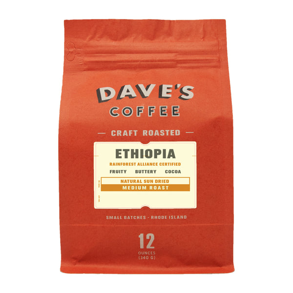 Ethiopia Ayheu - Rainforest Alliance Certified Coffee