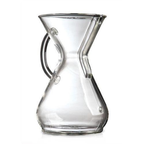 Chemex 8 Cup Glass Handle Coffeemaker
