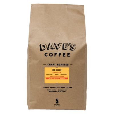 Decaf Paper Tiger Coffee Subscription