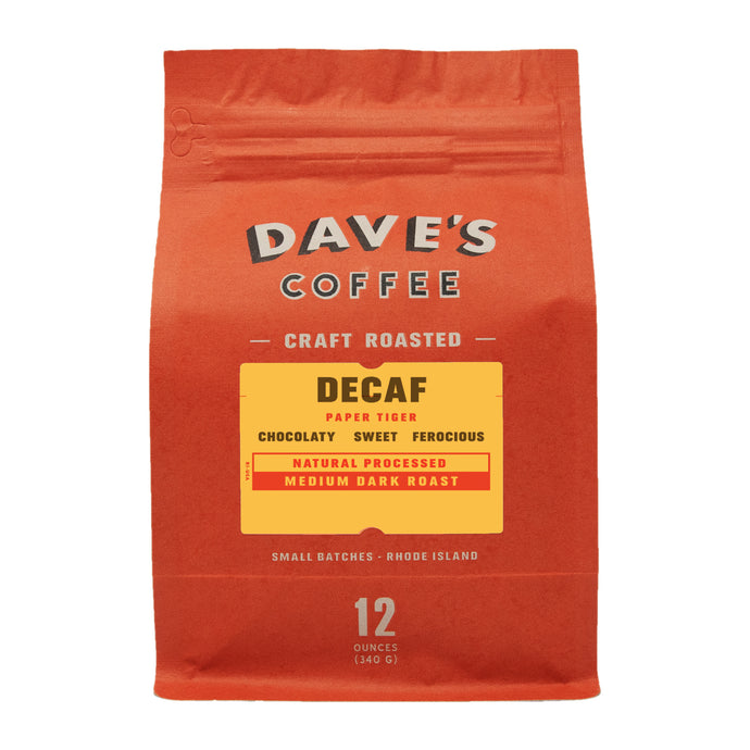 Decaf Paper Tiger Coffee