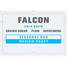 Load image into Gallery viewer, Falcon Cold Brew Coffee Subscription (Seasonal)