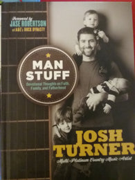 Man Stuff by Josh Turner hardcover