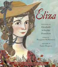 Eliza by Margaret McNamara hardcover - Treehouse Books and Gifts