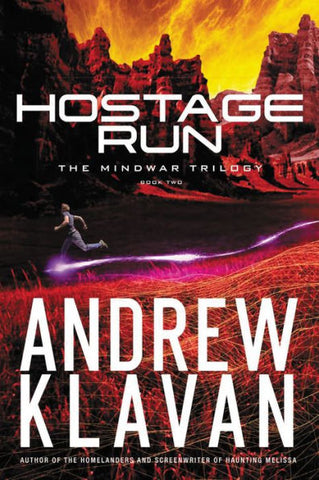 Hostage Run Book 2 Mindwar Trilogy by Andrew Klavan Hardcover - Treehouse Books and Gifts