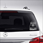 STICKER AUTO - DARTH DADDY