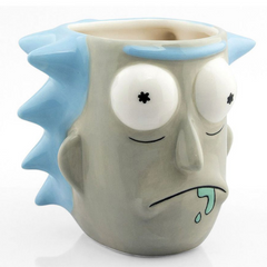 RICK AND MORTY 3D MUG
