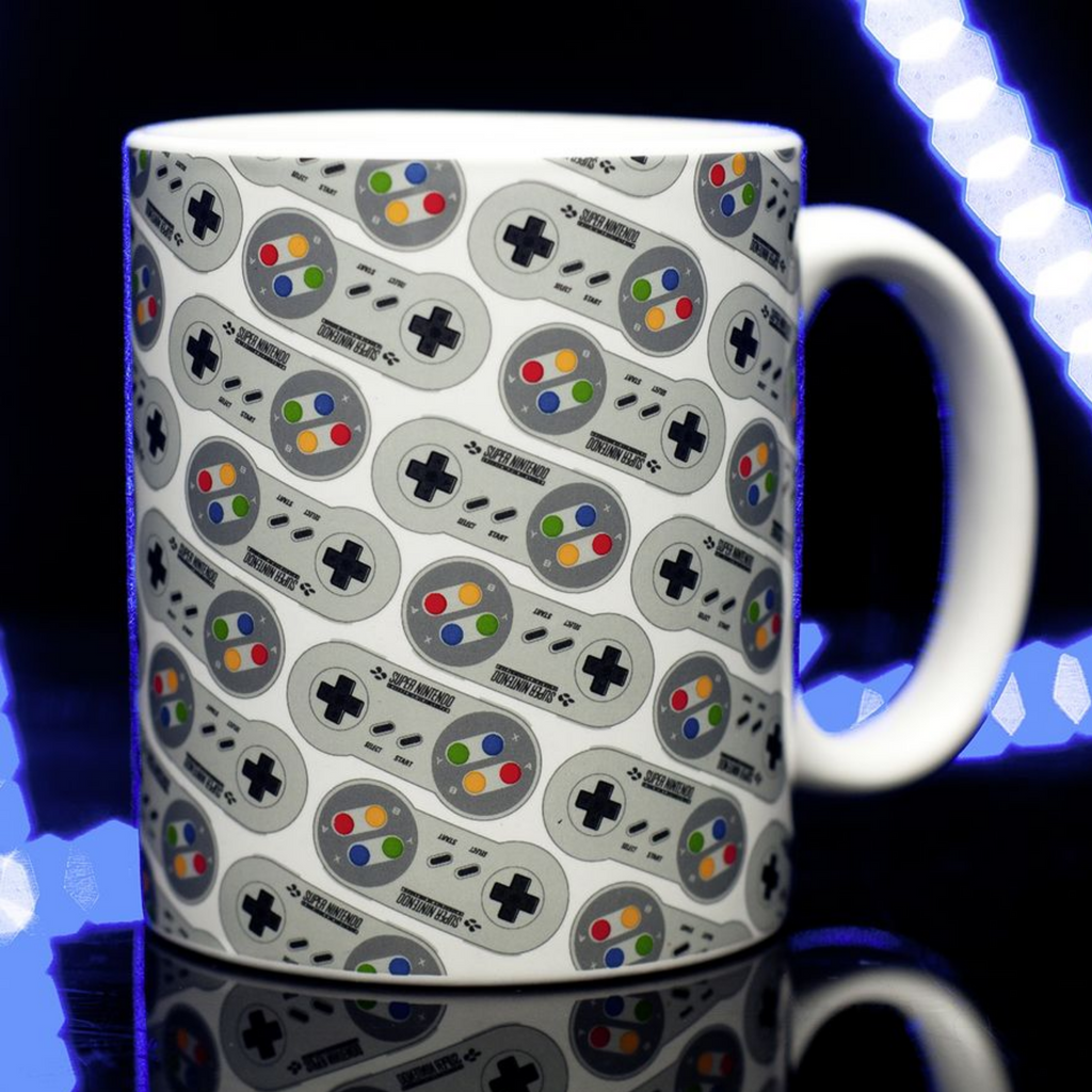 SUPER NINTENDO RETRO - TAZA