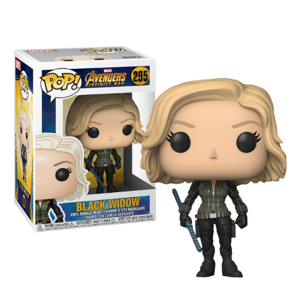 BLACK WIDOW FUNKO POP