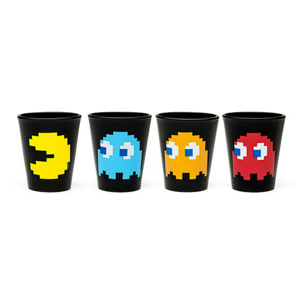 PAC-MAN Shoot Glass 4 Pack