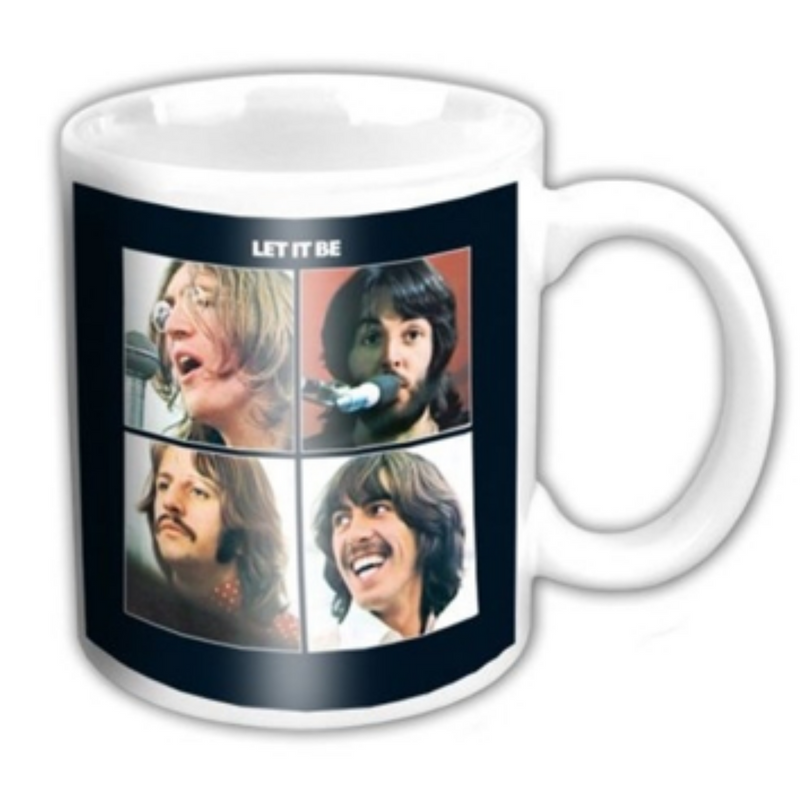 THE BEATLES LET IT BE - TAZA