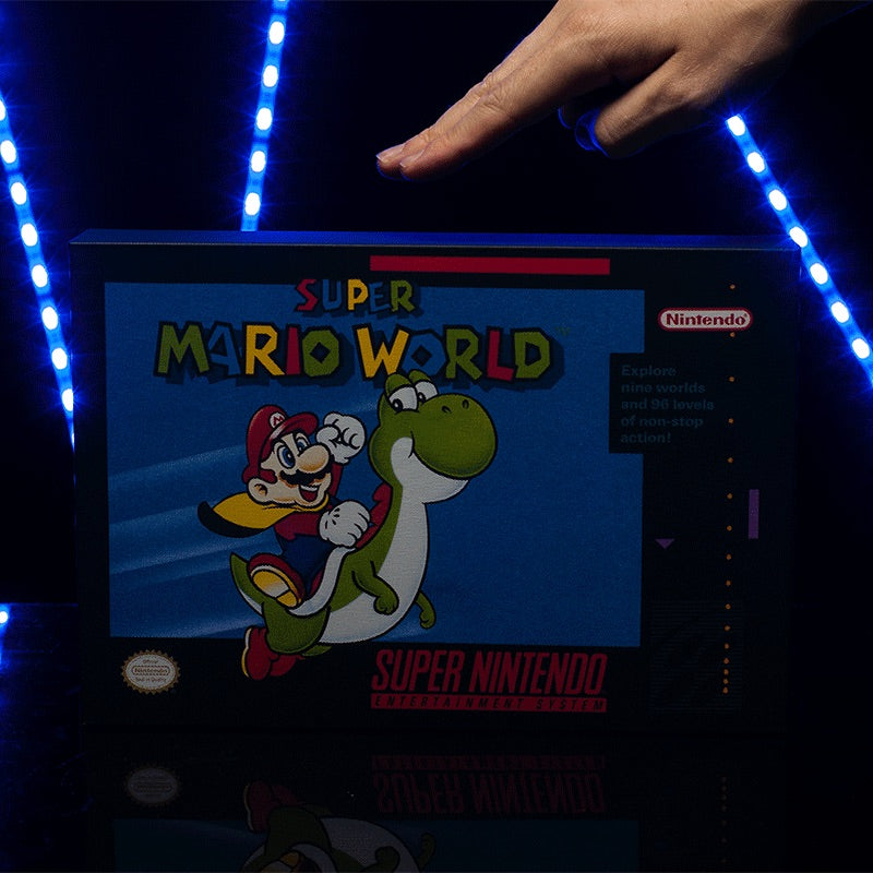 LÁMPARA MARIO WORLD