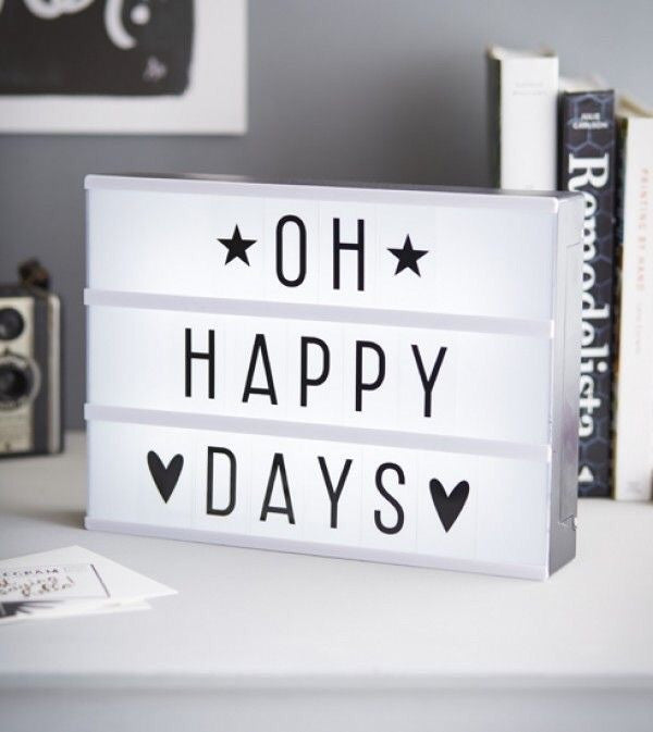 Letters Light Box Deluxe