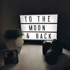 Letters Light Box