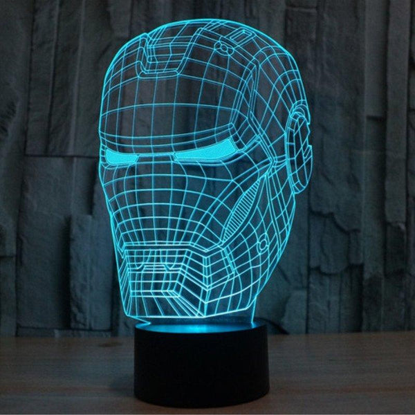 Lámpara Led Iron Man
