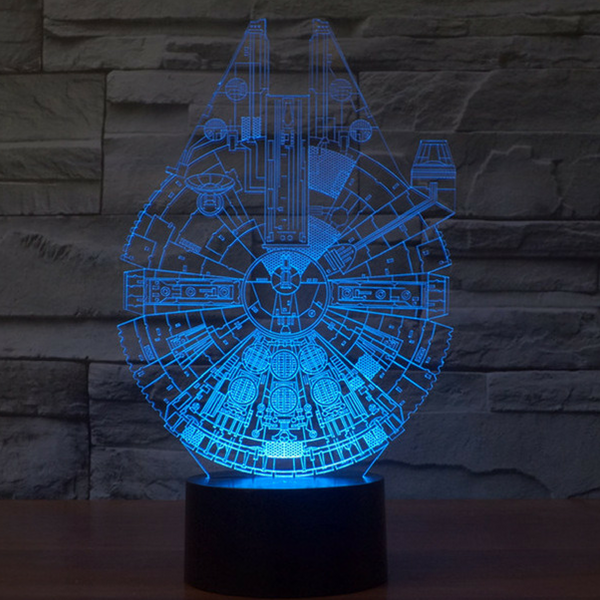 Lámpara LED - MILLENNIUM FALCON