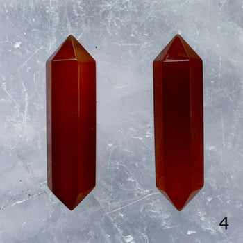 Carnelian Double Terminated Points - Style 4 - New Earth Gifts