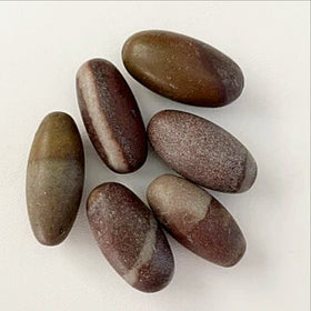 "1"" Shiva Lingams Set of 6"