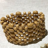 Wood Beaded Bracelet - New Earth Gifts