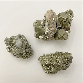 Pyrite specimens - new earth gifts