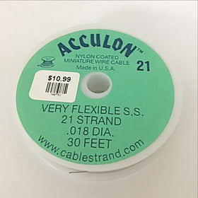 acculon 21 beading wire - New Earth Gifts