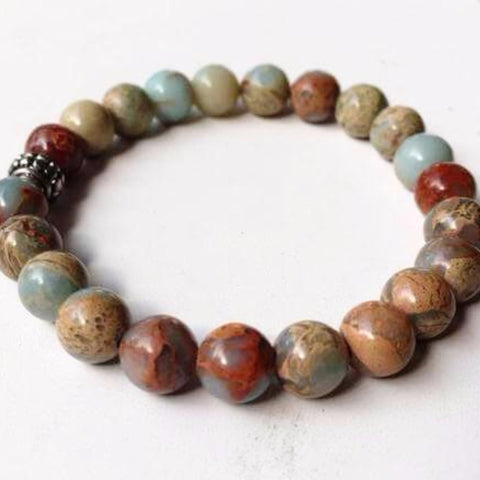 African Opal Power Bracelet 8mm - New Earth Gifts