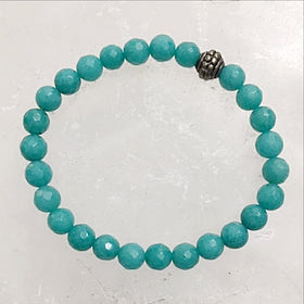 teal agate bracelet - new earth gifts