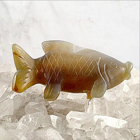 Agate Fish Figurine - New Earth Gifts