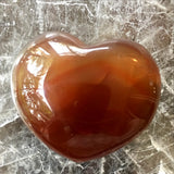 Red Agate Heart - New Earth Gifts and Beads