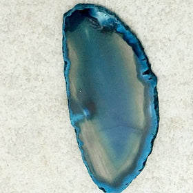Teal Agate Slice 2 Inches - New Earth Gifts
