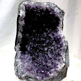 Amethyst Druse Standing on Cut Base - New Earth Gifts and Beads