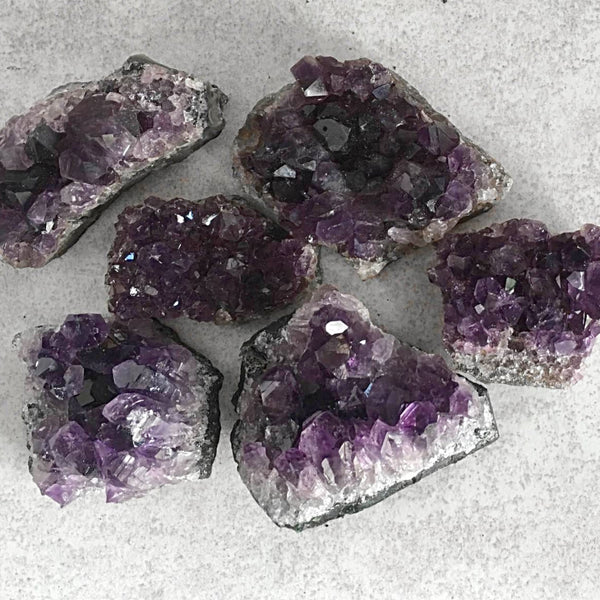 Amethyst Druse Specimens - New Earth Gifts
