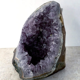 Amethyst Druse Standing on Cut Base, 9 lb Quality Specimens - New Earth Gifts
