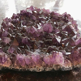 Amethyst Druse - Extra Large Cluster - New Earth Gifts