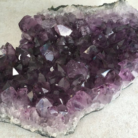 Amethyst Druse - Extra Large Brazilian Cluster - New Earth Gifts