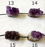 Amethyst Drusy Crystal Beads - New Earth Gifts