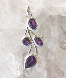 Amethyst Pendant - New Earth Gifts and Beads