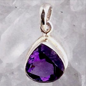 Amethyst Pendant - New Earth Gifts