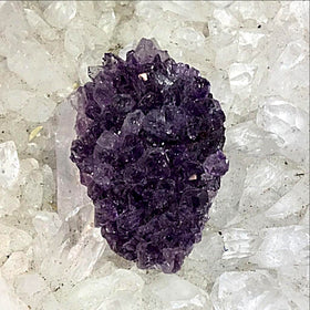 Amethyst Drusy Cabochon - New Earth Gifts