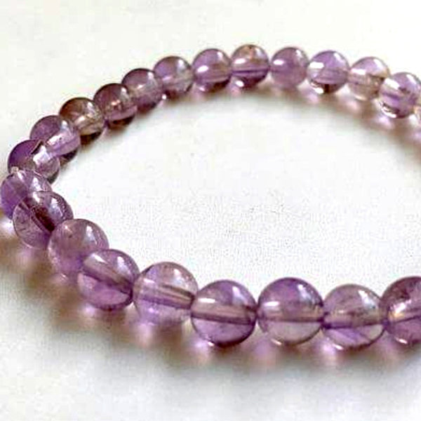 Ametrine Power Bracelet for Preventing Negative Habits-6mm - New Earth Gifts